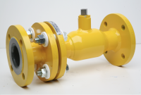 FLANGED BALL VALVE WITH IPK CONNECTION